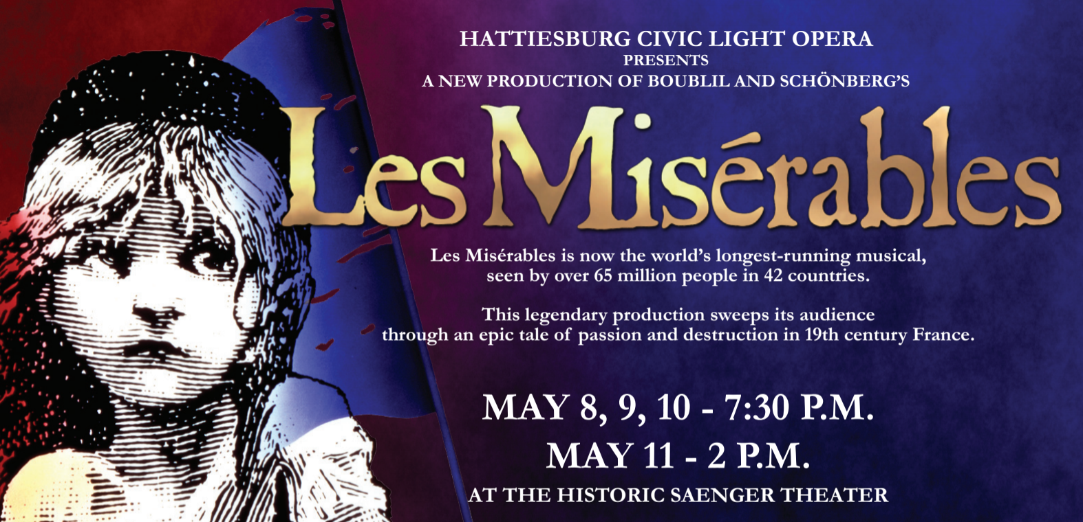 HCLO's Les Miserables   Extra Table