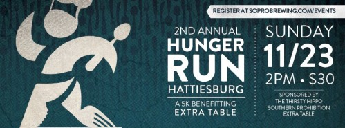 2nd Annual Hunger Run benefitting Extra Table