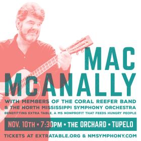 Mac McAnally in Tupelo!