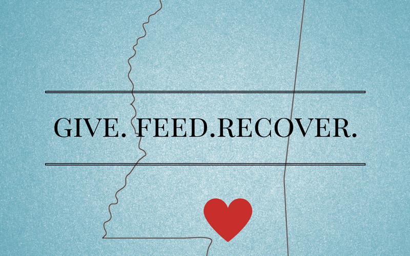GIVE. FEED. RECOVER.