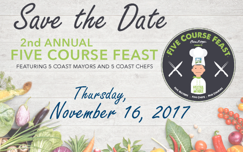 2nd Annual Five Course Feast at Beau Rivage