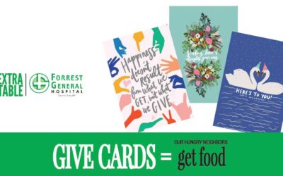 GIVE CARDS TO BENEFIT EXTRA TABLE